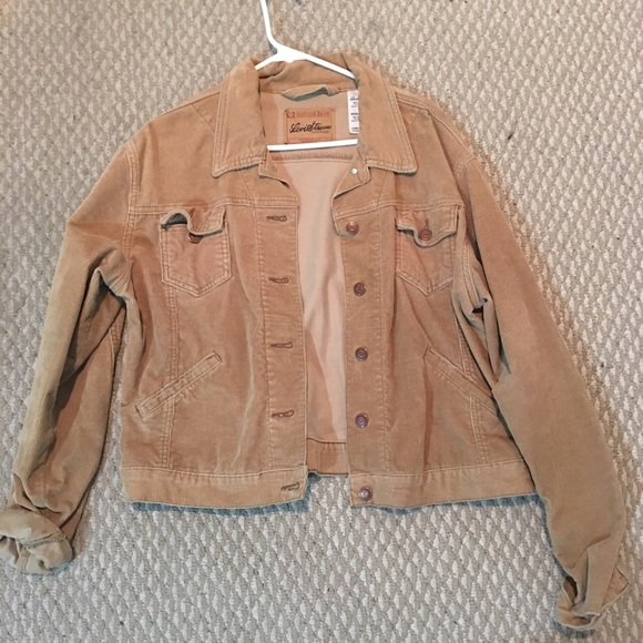 Levis vintage cord sherpa jacket