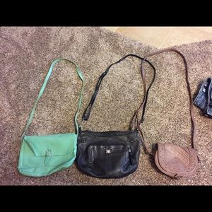 Handbags - Three cross body purses
