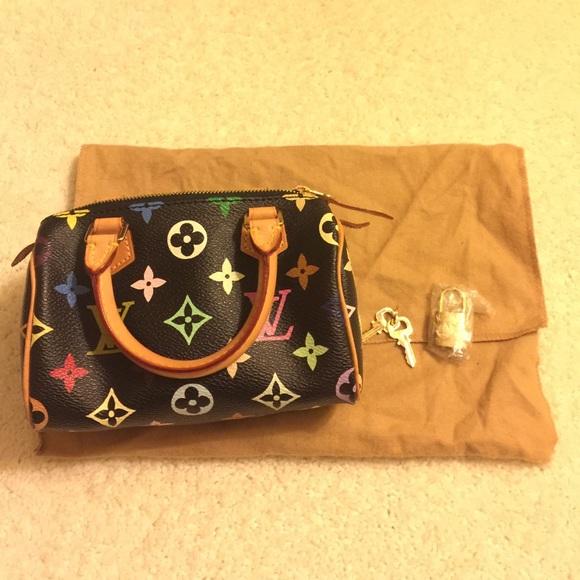 abe79ef8d71e Louis Vuitton Handbags - Louis Vuitton mini hl bag-multi color black