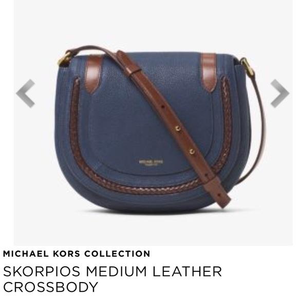 dade5e91b47988 Michael Kors Bags | Host Pick Michael Kor Collection Skorpio ...