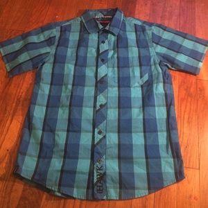 Tony Hawk Other - Boys Tony Hawk button shirt size large(14-16)