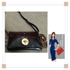 Handbags - NWT - Beautiful Textured Cross Body
