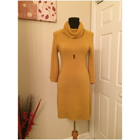 64% off Mossimo Supply Co. Dresses & Skirts - Mustard Yellow ...