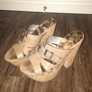 Sam Edelman wedge heels