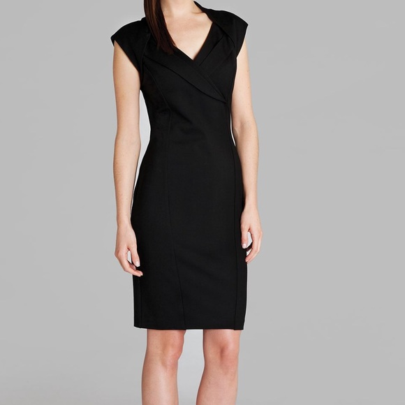 f2819c25 Ted Baker black crossover dress Sheath career. M_5788f62d7f0a05158003ba6f