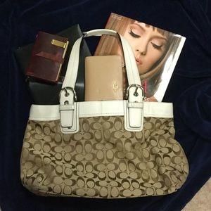 Coach Handbags - Coach Soho Bag w/ Leather Trim
