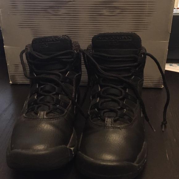 sports shoes 1ed5e c183f 05' retro 10 Air Jordan Collection all black