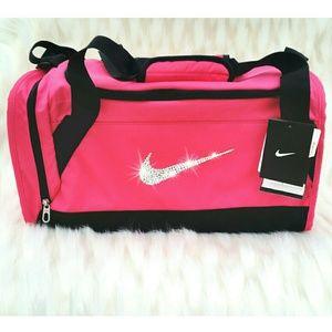 Nike Bags Swarovski Bling Brasilia 6 Duffel Gym Bag Poshmark new products  01ece ... b2e6141b1d