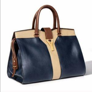 Yves Saint Laurent Handbags - YSL Cabas Chyc Tricolor Bag