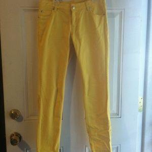 Real Love Denim - Yellow straightleg jeans