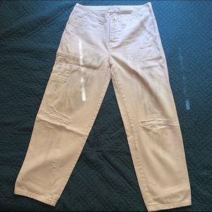 Free People Denim - Free People Cargo Jeans Size 26