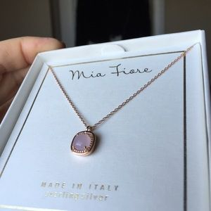 42 off Mia Fiore Jewelry Italian Rose Gold over 925 NWOT from
