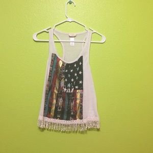 Colorful cute tank top!