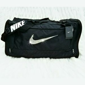 Swarovski Bling Nike Brasilia 6 Duffel Gym Bag