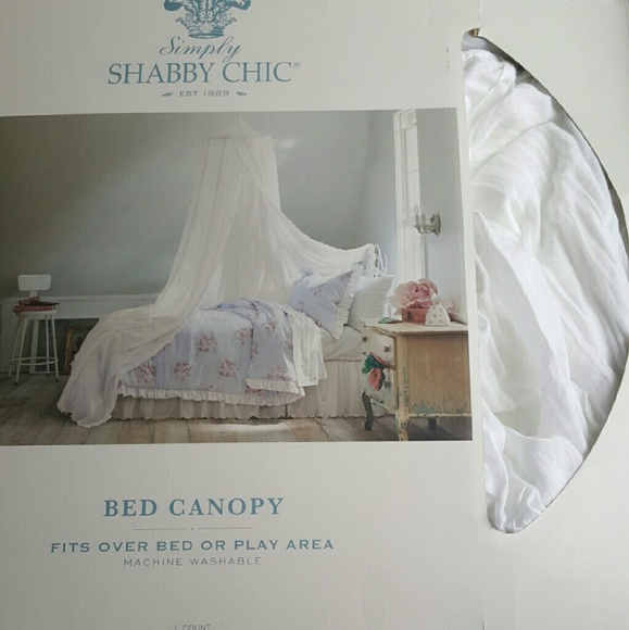 Bed Canopy FINAL PRICE. & simply Shabby Chic - Bed Canopy FINAL PRICE. from Nemoneu0027s closet ...