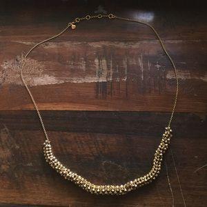 J. Crew gold necklace
