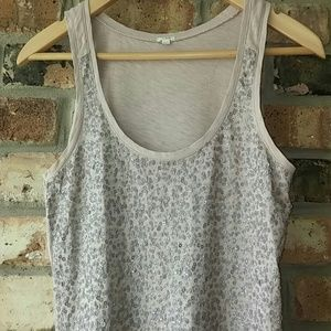 J Crew Sequin Embellished Etoile Tank Top XS