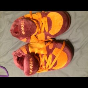 Virginia tech Hokies slippers