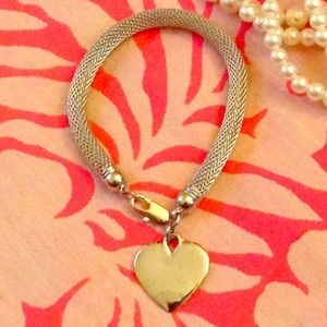 Charming Charlie Jewelry - Silver heart bracelet 💞