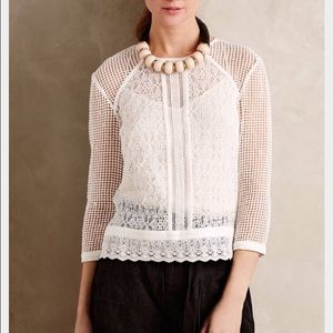 Anthropologie Meadow Rue  Marolles Top