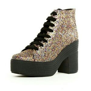 ISO JC By Jeffrey Campbell play Glitter  boots