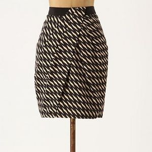 Anthropologie Washi Wrap Skirt by Fei