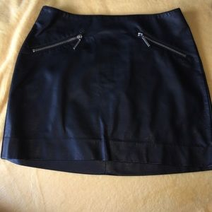 H&M Leather skirt! Never worn