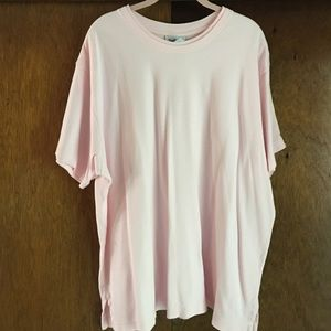 Westbound dbl ribneckline shirt 100% cotton