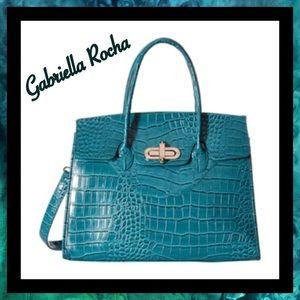Gabriella Rocha Handbags - 💕HP💕 NWT- Gabriella Rocha Blue Crocodile Purse
