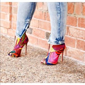 Shoes - Rainbow Pixie Booties