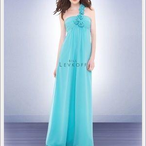 Bill Levkoff Dresses & Skirts - NWT Long Bill Levkoff Plum Color Dress Size 8