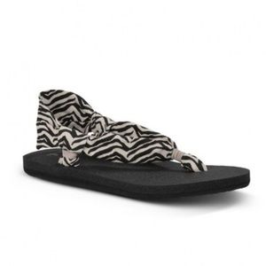 Sanuk Shoes - Sanuk Slingshot Zebra Sandals