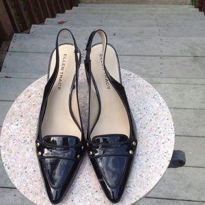 Ellen Tracy Shoes - Ellen Tracy Delaney Black Patent Heels