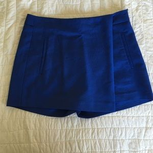 Zara cobalt blue skort