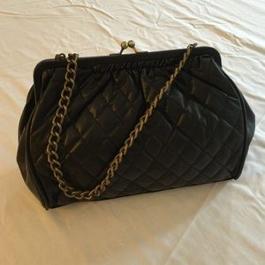 Apt. 9 Handbags - Black Quilted Purse