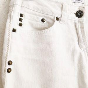 Pimkie Jeans - 🎉Host Pick🎉White Studded Straight leg Jean
