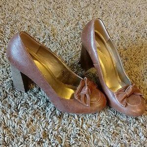 Banana Republic Leather Heels