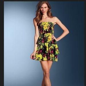 81% off Moda International Dresses &amp Skirts - Strapless smocked ...