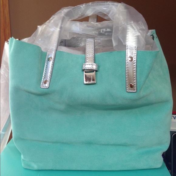 4f05323ac2 Tiffany & Co. Bags | Tiffany Co Small Reversible Tote | Poshmark