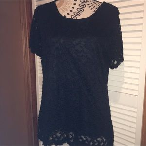 NY Collection Blame Lace Top