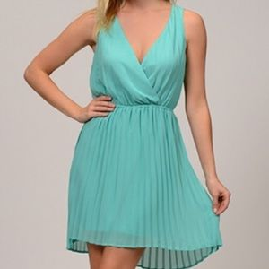 Moon Collection Dresses & Skirts - Sheer Pleated Dress