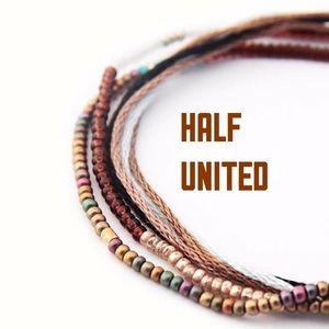 Half United Jewelry - Last One🔹The Mya Bracelet in Brown