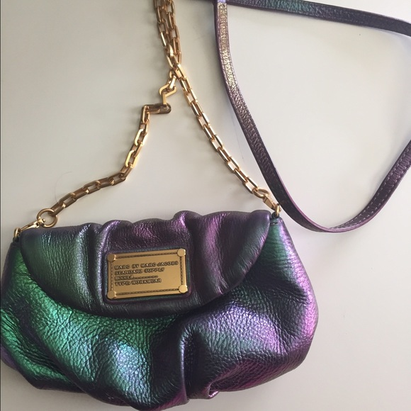 994eb0daffc8 Iridescent Marc Jacobs Karlie chain purse. M 57897ed62599fe61b5004be7