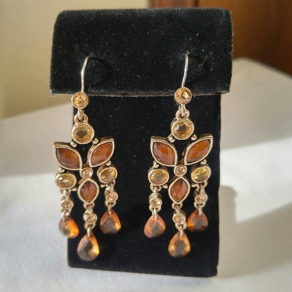 Jewelry shades of amber chandelier earrings poshmark shades of amber chandelier earrings aloadofball Image collections