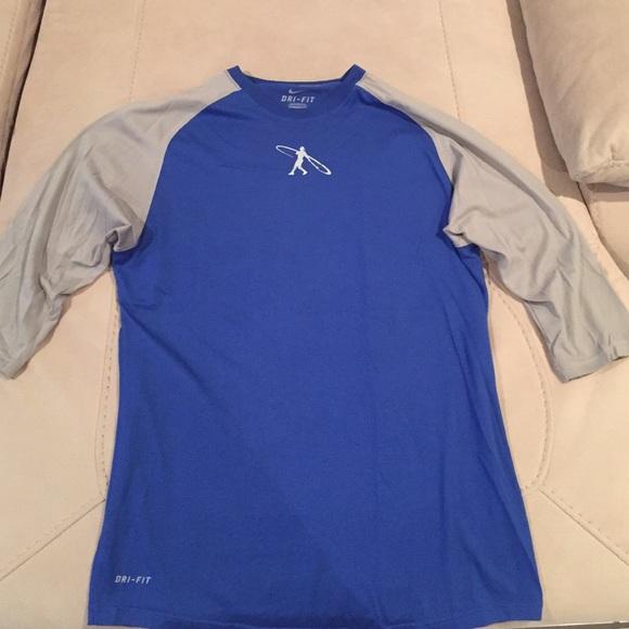 e0a4f7e0ce8 Nike Shirts | Ken Griffey Swingman 34 Sleeve Shirt | Poshmark
