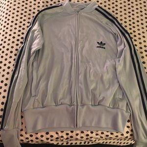 Woman's adidas long sleeve jacket size xl