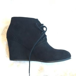 57 jcpenney shoes black lace up wedges from lexie s