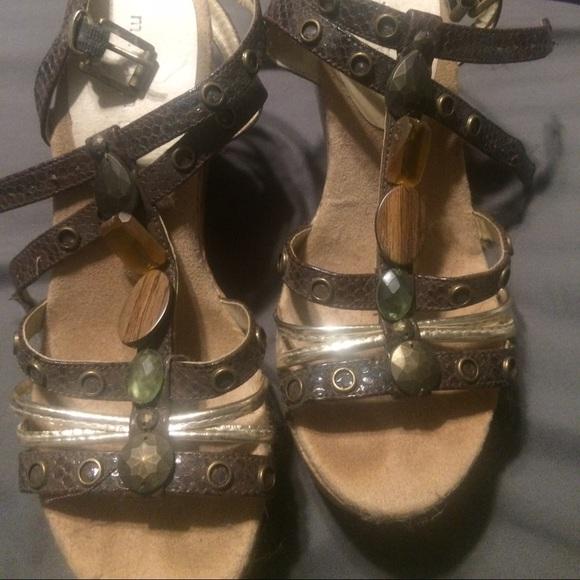 Madden Girl Shoes - Madden girl stone wedges