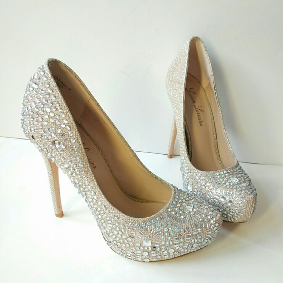 de5a394959 Lauren Lorraine Shoes | Sale Vanna Platform Pump Heels | Poshmark