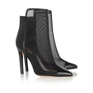 Opening Ceremony Shoes - Reed Krakoff Mesh Ankle Bootie